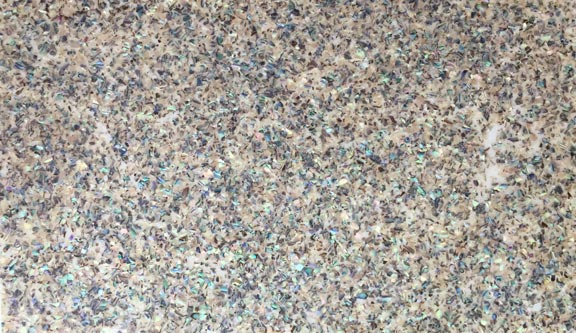 Crushed Abalone Speckled Veneer